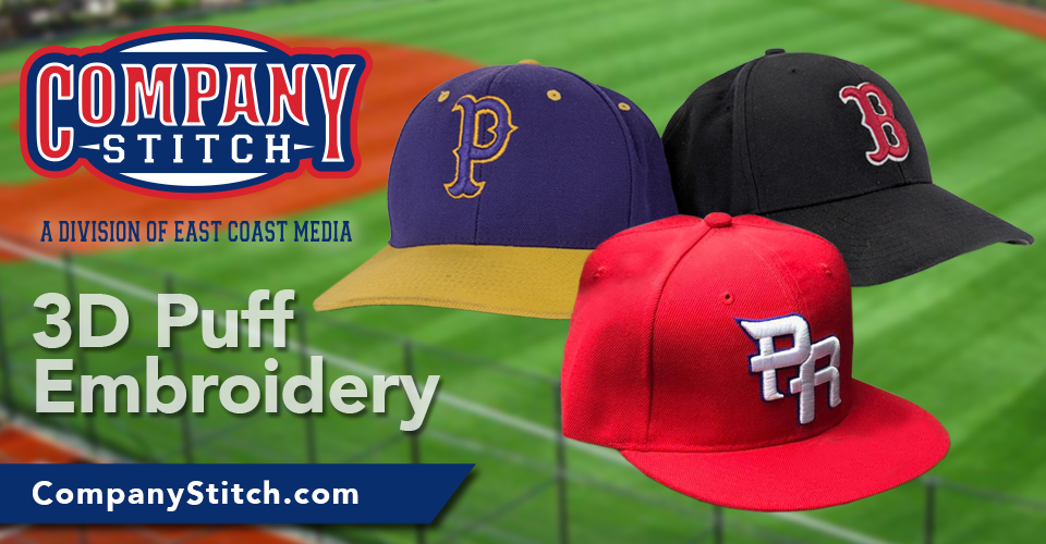7528c82274ead Consider a 3d embroidered logo for your hats